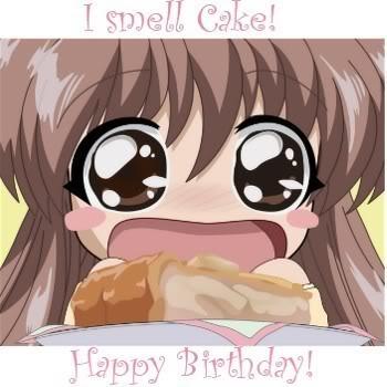Feliz Cumpleaños Barbaraaaaaa ! >w<! Anime