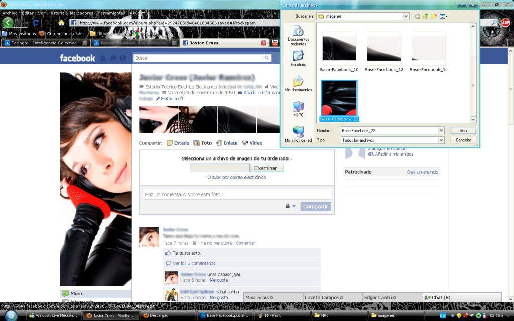 Tutorial cambio de perfil facebook con photoshop 12