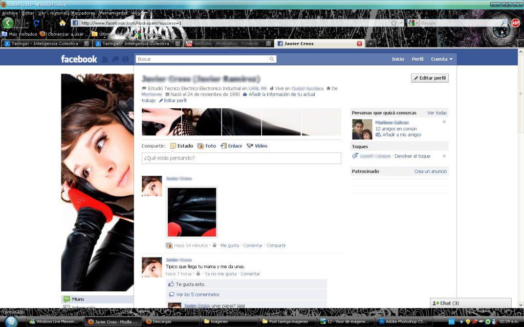 Tutorial cambio de perfil facebook con photoshop 13