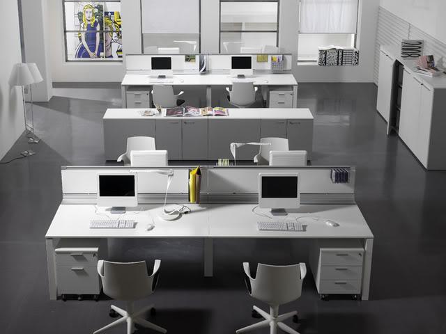 Cuartel general del grupo del Fbi Separated-4-post-workstations-in-1