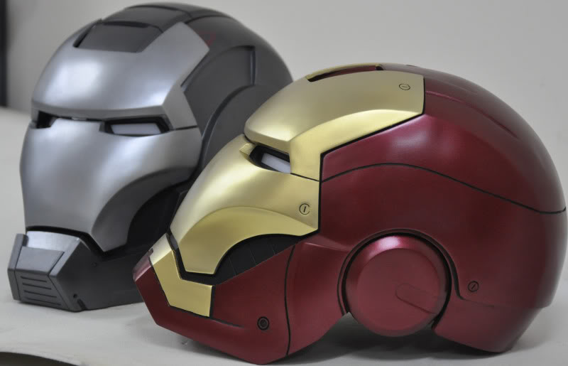 Buste lifesize Sideshow d'Iron Man battle damaged - Page 3 0085