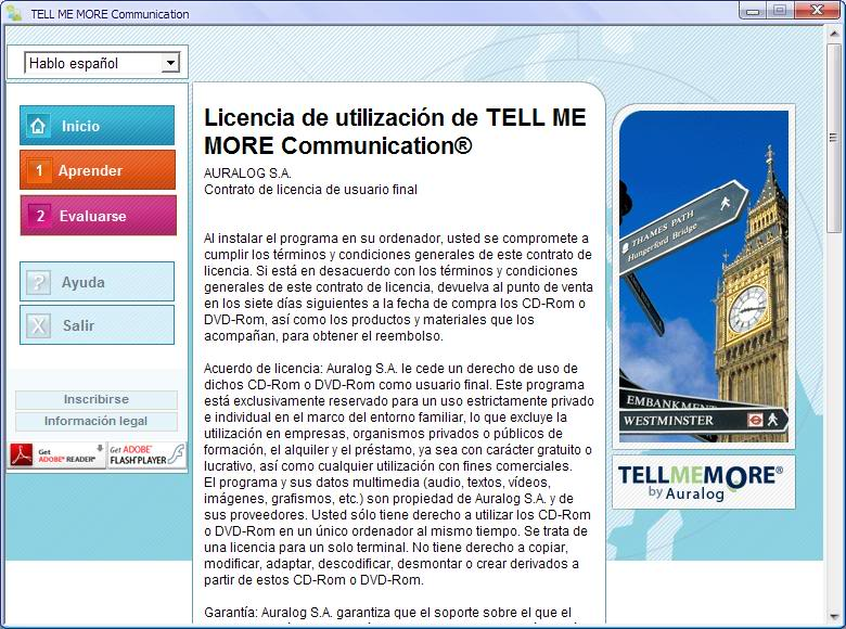 Curso De Ingles Multimedia Tell Me More v9.0 multilenguaje  TellMeMoreEnglishPerformanceCommuni