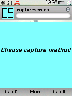 Haz capturas de tu pantalla Capture0004