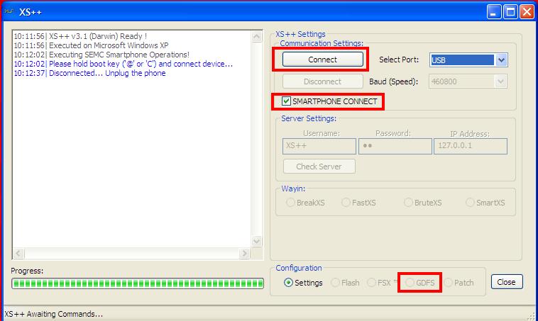 Despersonalizar y Actualizar Firmware con Phone XS++ XS