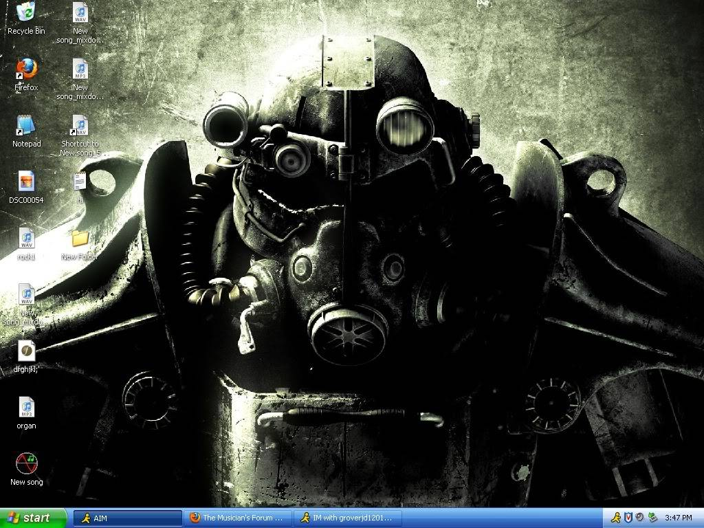 Post a Picture of Your Desktop. Asdf