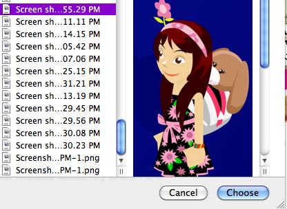 How do i upload a avater Screenshot2010-02-06at43103PM