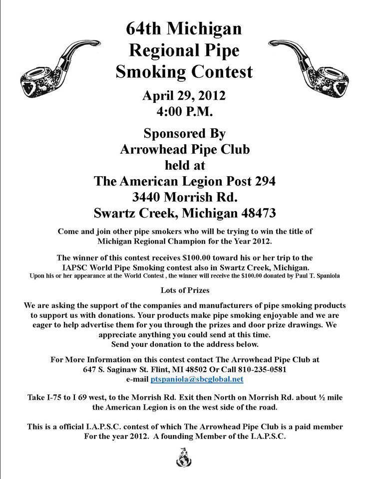 64th Michigan Regional Smoking Contest 64thMichigan