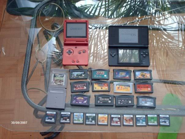 Post your setup/Gaming Collections.  Oldcollection
