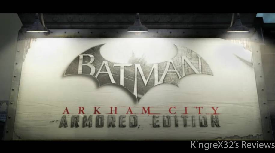Review: Batman Arkham City: Armored Edition (Wii U Retail) BatmanArkhamCityArmouredEditionlogo