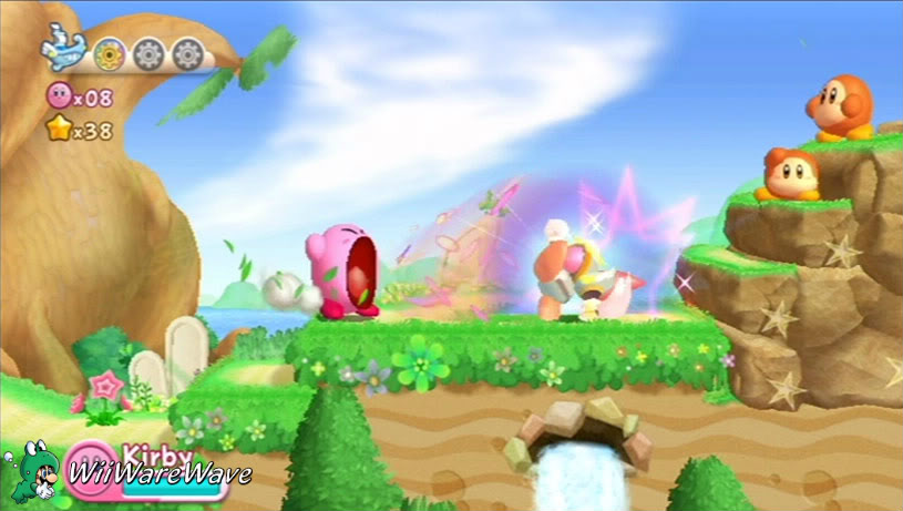 Review: Kirby's Return to Dream Land (Wii Retail) KRTD3-1