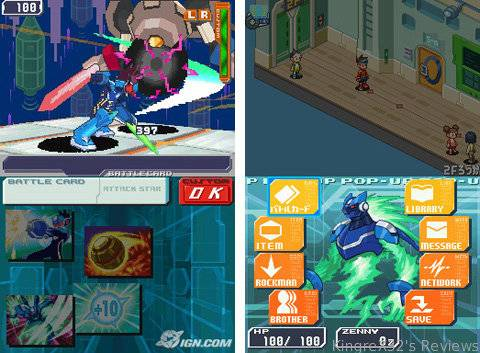 Megaman Starforce 3: Black Ace: Review by KingreX32 MMS6