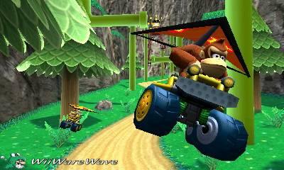 Review: Mario Kart 7 (3DS Retail) MarioKArt7DonkeyKongglidercopy