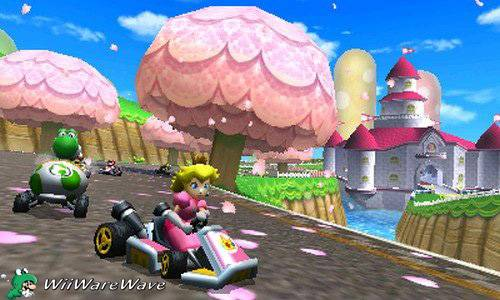 Review: Mario Kart 7 (3DS Retail) MarioKart7Peachcopy