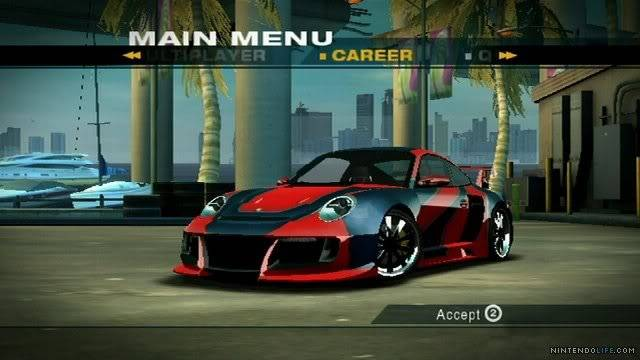 Review: Need for Speed: Undercover (Wii Retail) Mainmenu