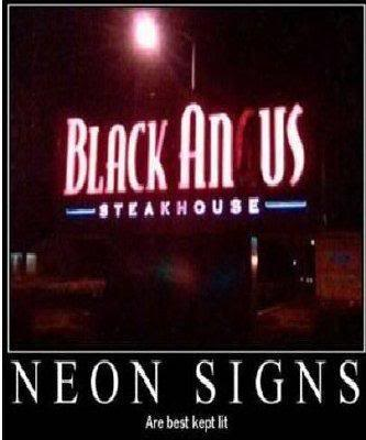 Neon Signs Pictures, Images and Photos