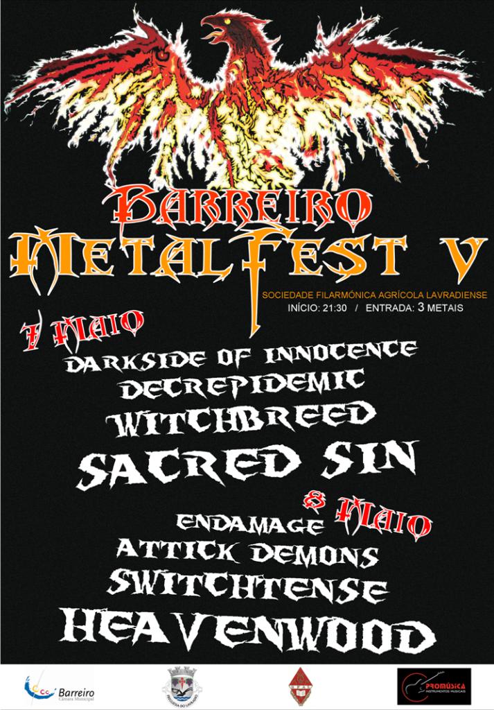 Barreiro Metal Fest 2010 BARREIROMETALFESTV