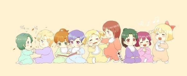 Mixed Group Senshi Gallery SailorTeamasBabies