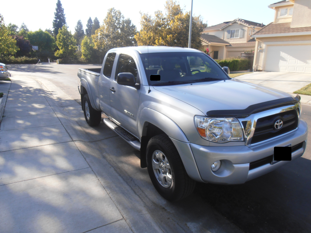 bought a new truck Frontviewoftacoma