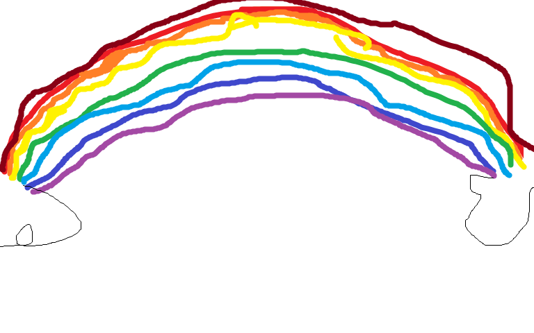 a posted picture Rainbow