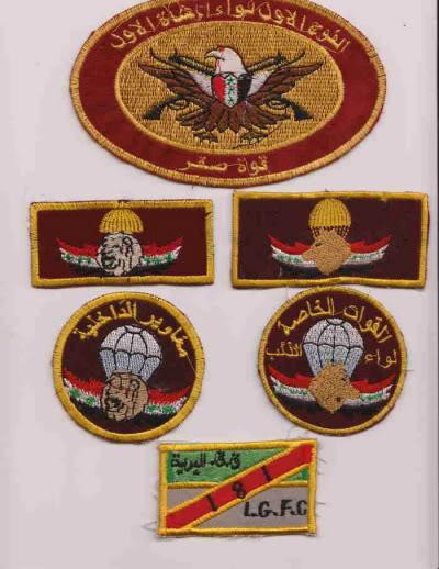 Post Hussein Iraq army insignia Iraq8id2
