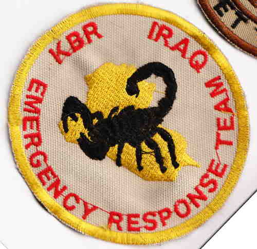 KBR quick reaction force local made patch Kbrsm