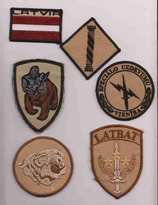 patches Latvia