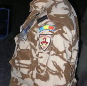 Desert camouflage field jacket & uniform Romanianpatches4