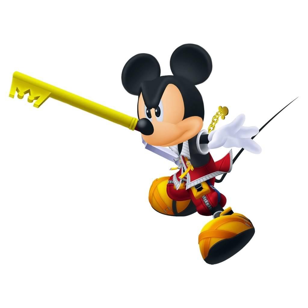 Kingdom Hearts FC KingMickeyRender3