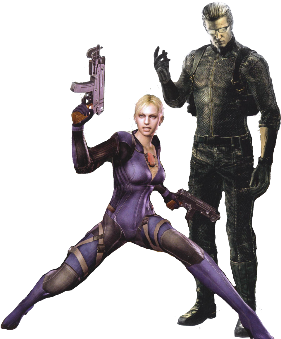 Looking for someone to make me a sig and avatar! Jill_and_Wesker_by_MusashiChan69