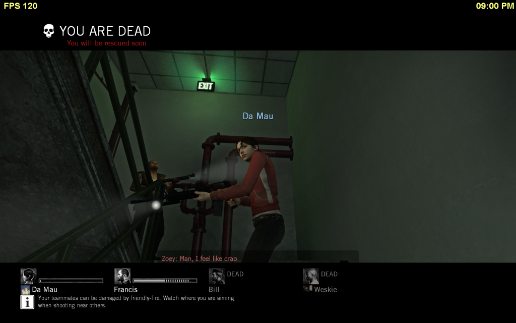 Weskie's Assorted Screenshot Thread L4d-20090418-210115