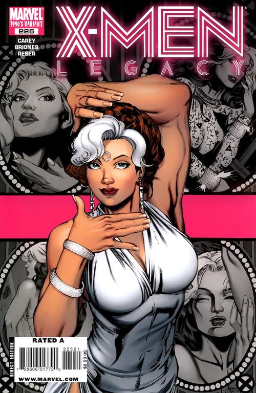 X-Men Nº103 (Julho/2010) CapaLegacyAdrianaMelo
