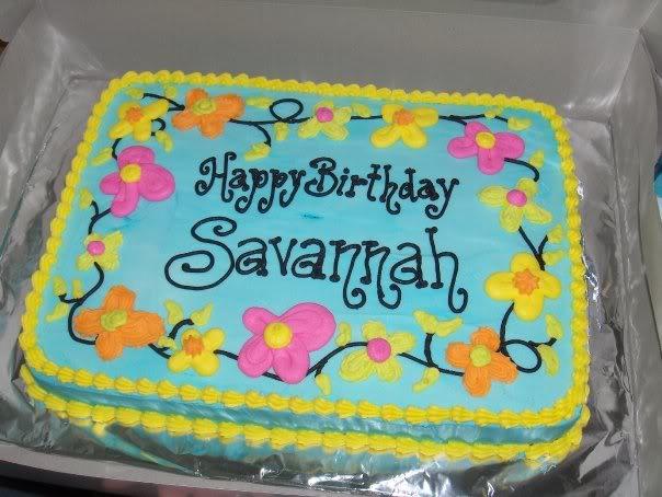 Happy Birthday, Lisa! Cake5