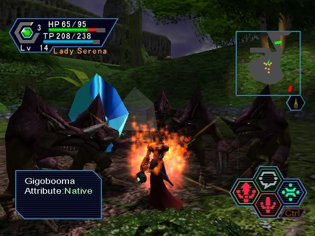 PSO PC/ V1&V2 Screenshot Gallery! - Page 7 Imonfire