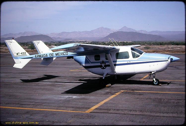 Cessna Skymaster Armada de México SkymasterArmada