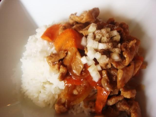 Thịt heo và cà rốt sốt chua DSC01870