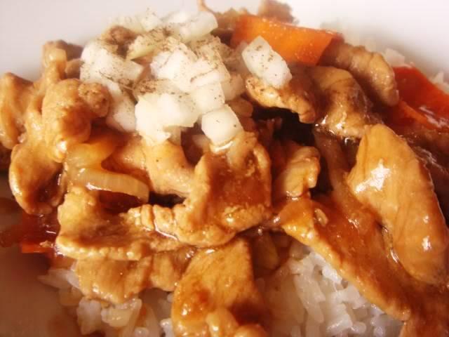 Thịt heo và cà rốt sốt chua DSC01872