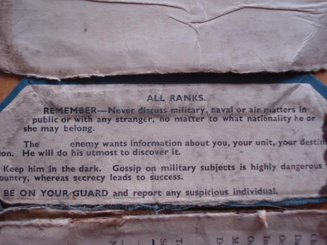RAF PAY BOOK POUR DES BELGES DSC02945