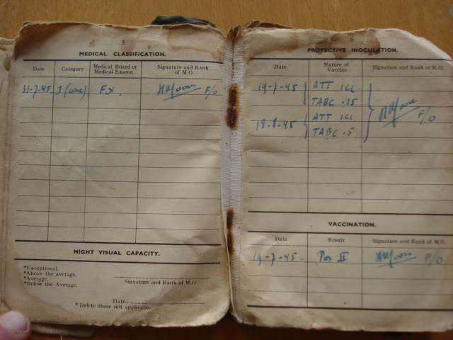 RAF PAY BOOK POUR DES BELGES DSC02948