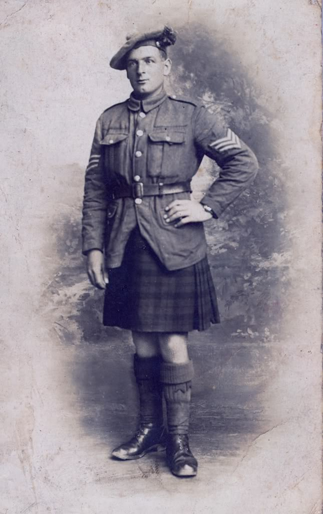 Kilts Militaires WWI - Page 2 Anonsgt