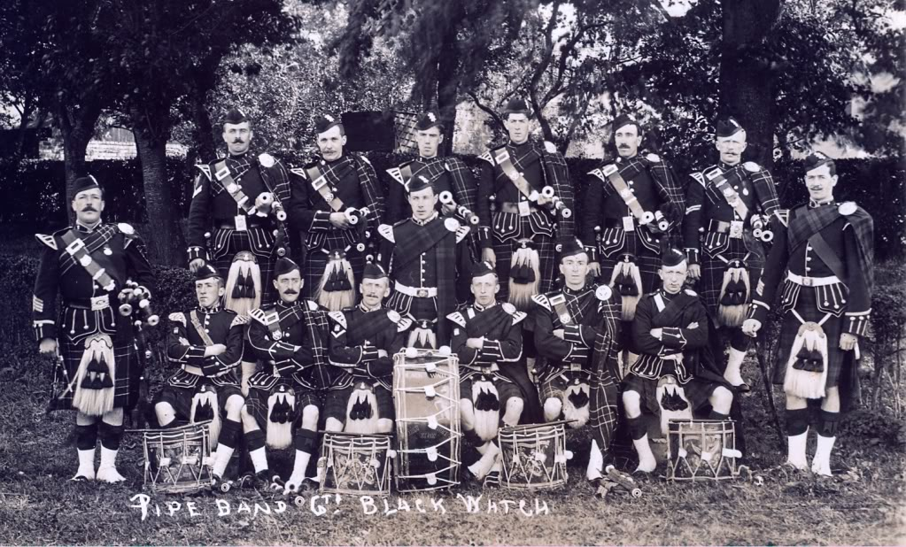 Kilts Militaires WWI - Page 2 T6pipers