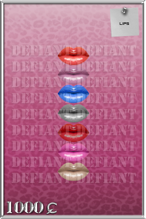»Touch.Of.Defiance«  Lips