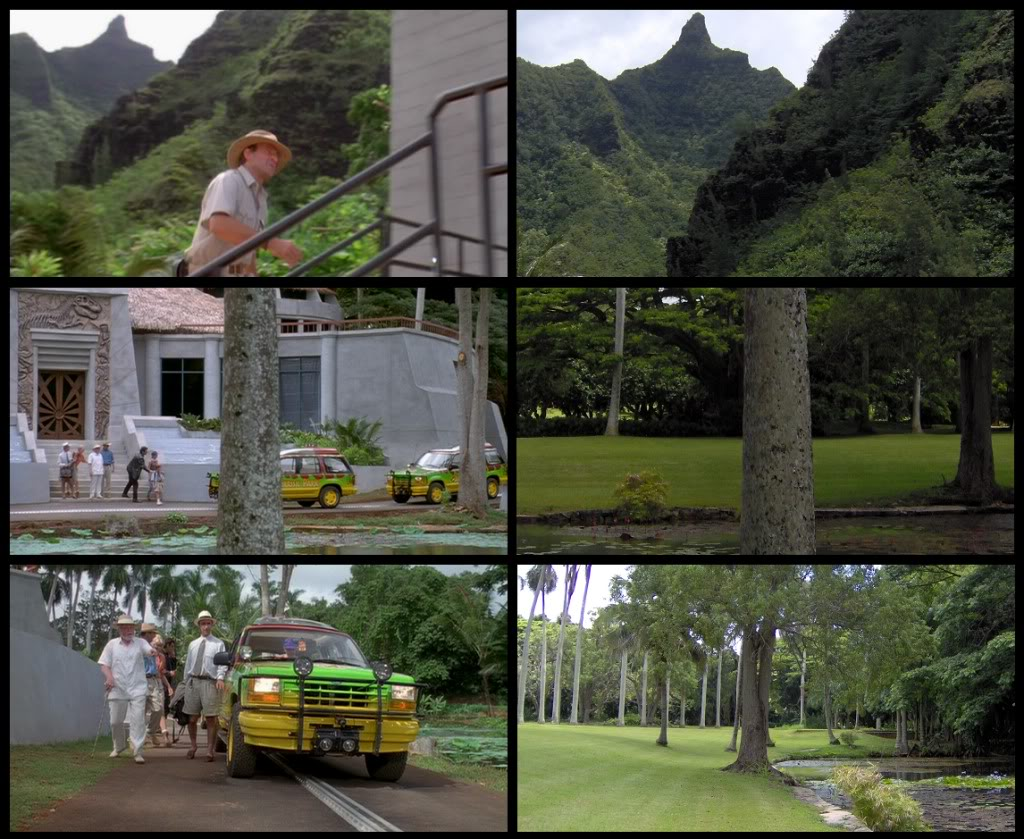 Jurassic Park Franchise Filming Locations!  KauaiFilmSites10