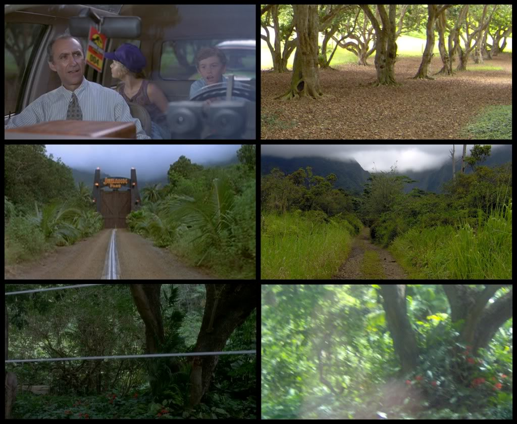 Jurassic Park Franchise Filming Locations!  KauaiFilmSites12