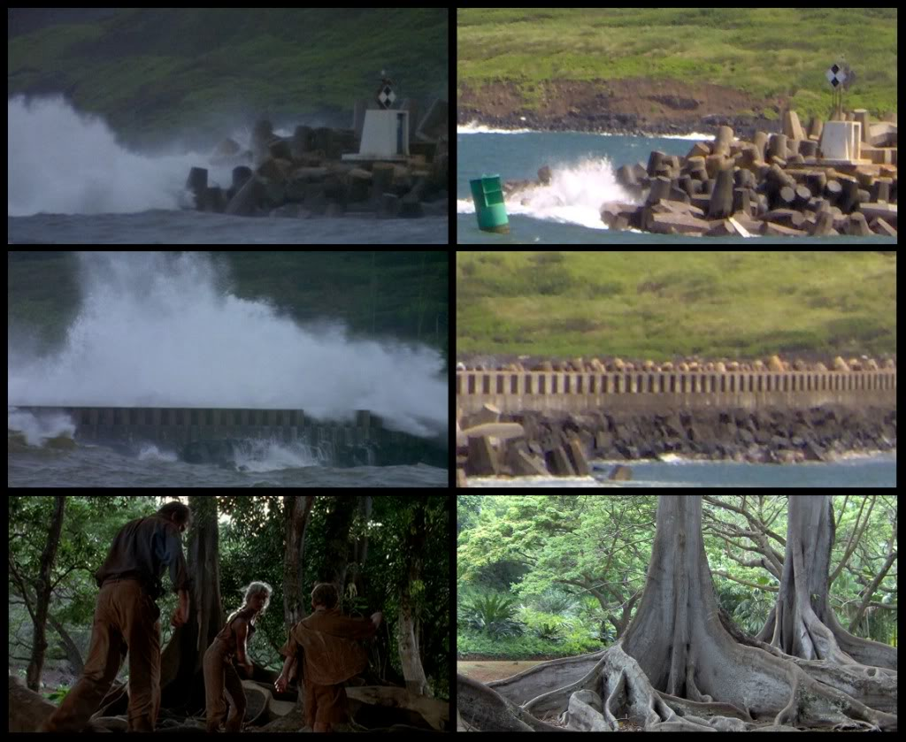 Jurassic Park Franchise Filming Locations!  KauaiFilmSites15