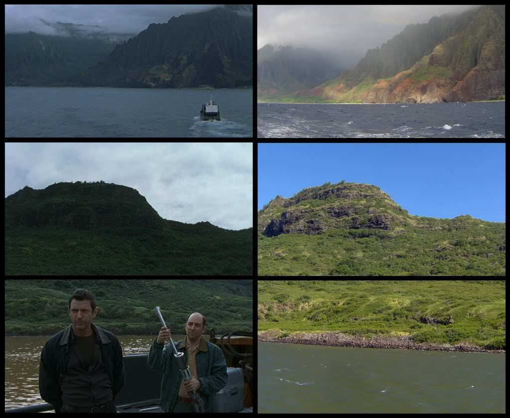 Jurassic Park Franchise Filming Locations!  KauaiFilmSites18
