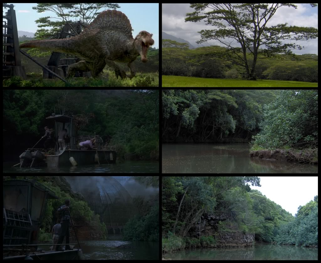 Jurassic Park Franchise Filming Locations!  KauaiFilmSites22