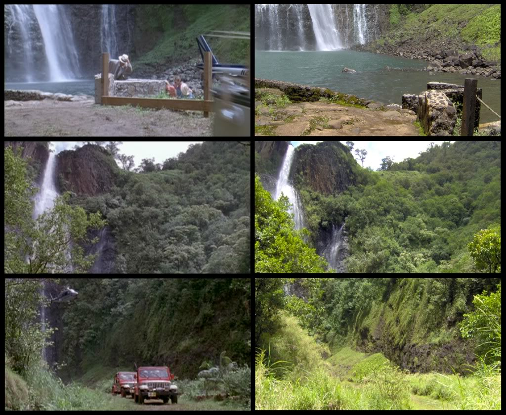 Jurassic Park Franchise Filming Locations!  KauaiFilmSites4
