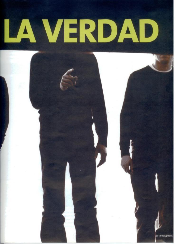 Jornal e Revista argentinos. Radiohead004