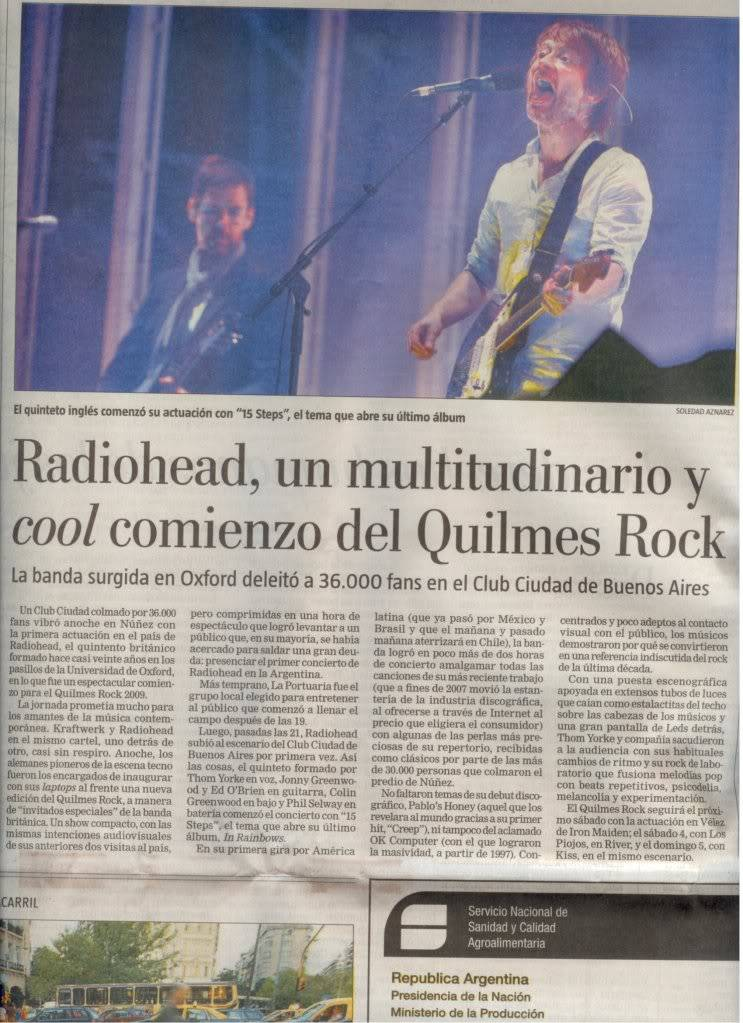 Jornal e Revista argentinos. Jornal