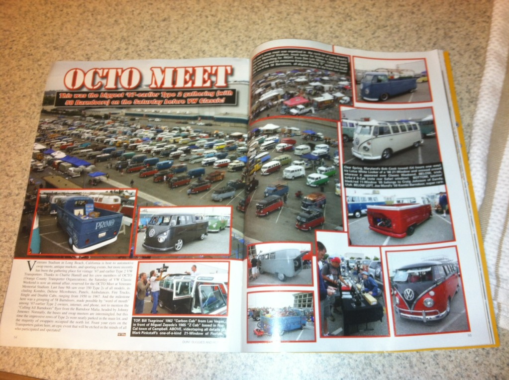 Airheads member featured in newest Hot VWs magazine!!! Photo1